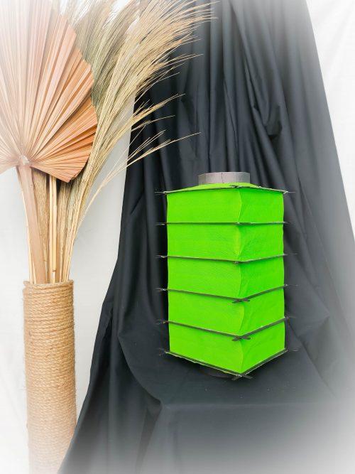 lampion kotak bambu, lampion kotak jepang, lampion gantung