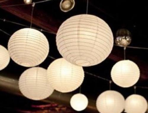 Percantik Kafe dengan Variasi Lampion Gantung yang Instagramable