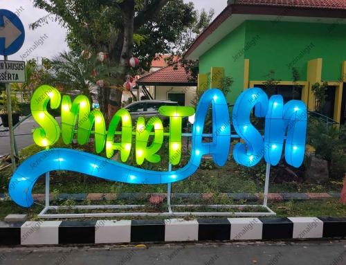 Lampion Karakter di Kantor BPSDM Jawa Timur