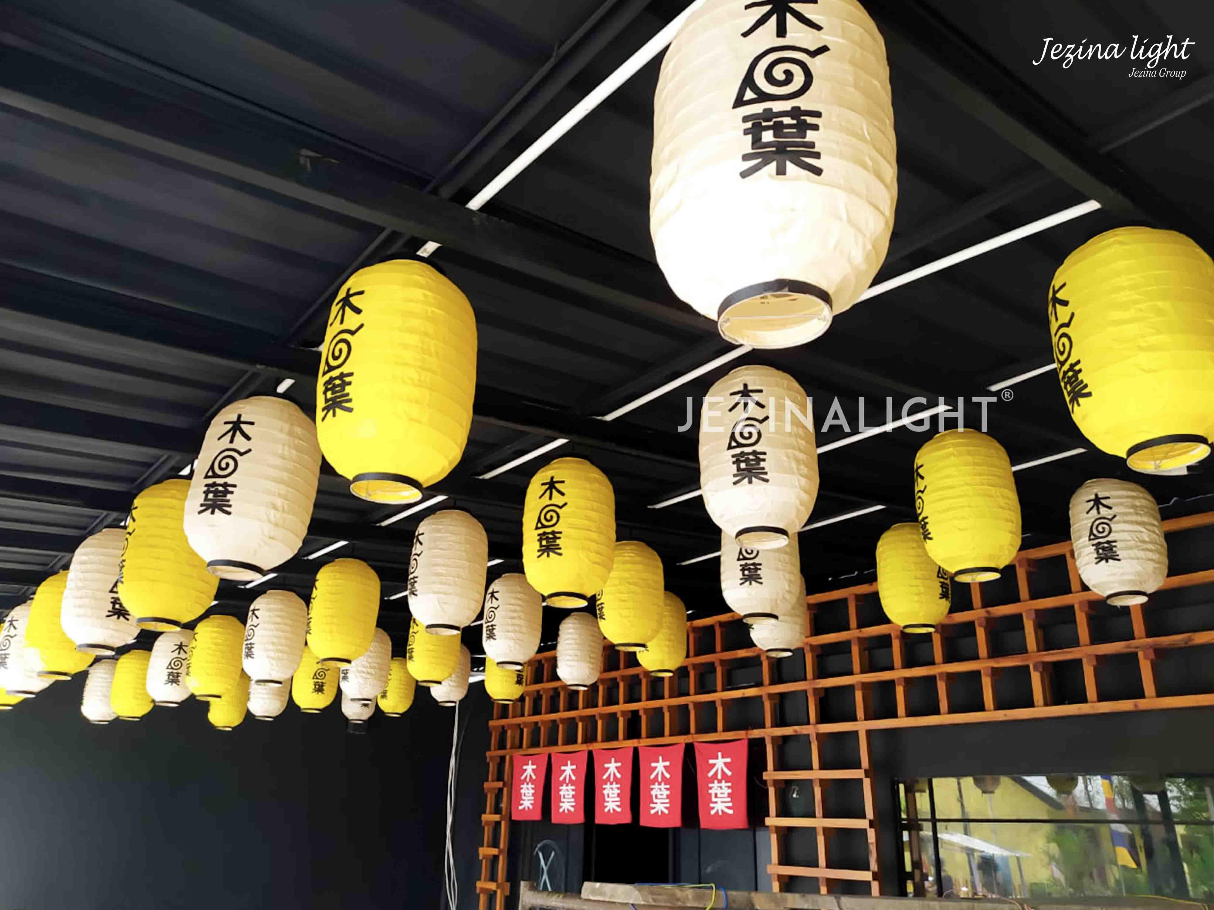 Dekorasi Restoran Jepang Bapak Ricky Bogor